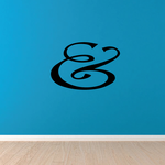 And Symbol Wall Decal - Vinyl Decal - Car Decal - Business Sign - MC41