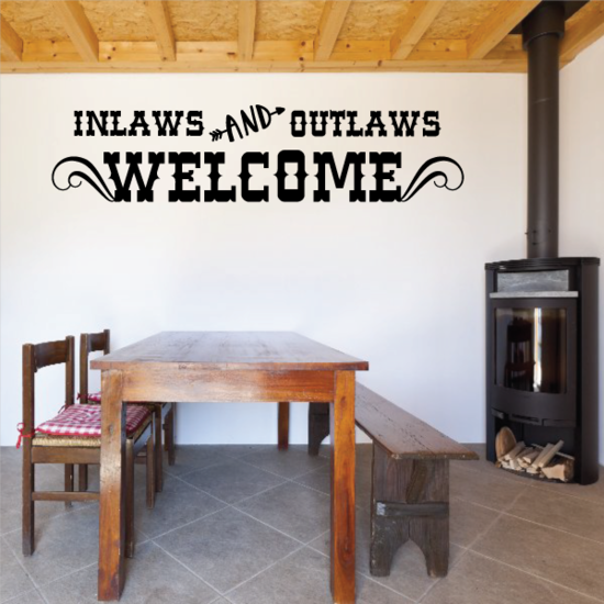 Inlaws and Outlaws Welcome