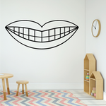 Smile Wall Decal - Vinyl Decal - Car Decal - Business Sign - MC63
