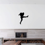 Football Wall Decal - Vinyl Decal - Car Decal - 030