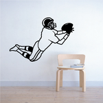 Football Wall Decal - Vinyl Decal - Car Decal - 039