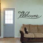Welcome Wall Decal - Vinyl Decal - Car Decal - Business Sign - MC81