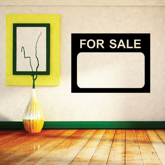 For Sale Wall Decal - Vinyl Decal - Car Decal - Business Sign - MC91