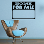 Home For Sale Wall Decal - Vinyl Decal - Car Decal - Business Sign - MC93
