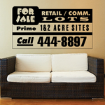Antique Sign Wall Decal - Vinyl Decal - Car Decal - Business Sign - MC95