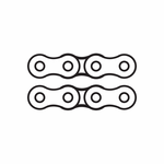 Bicycle Link Chain Decal