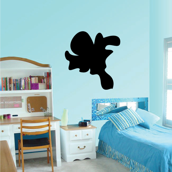 Abstract Silhouette Ghost Decal