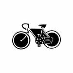 Sport Bicycle Decal