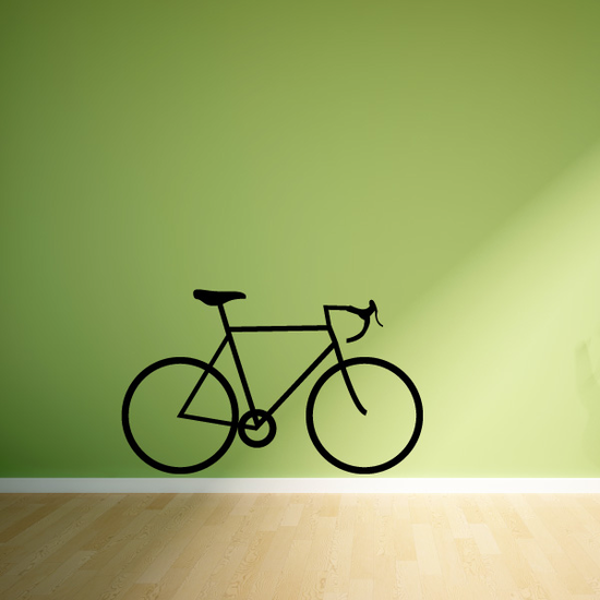 Touring Bicycle Decal