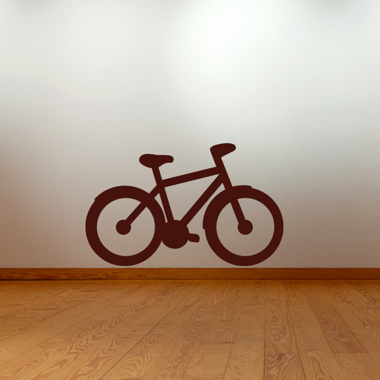 Mountain Bicycle Decal