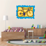 Fixed Gear Bicycle Sticker