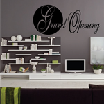 Grand Opening Wall Decal - Vinyl Decal - Car Decal - Business Sign - MC166