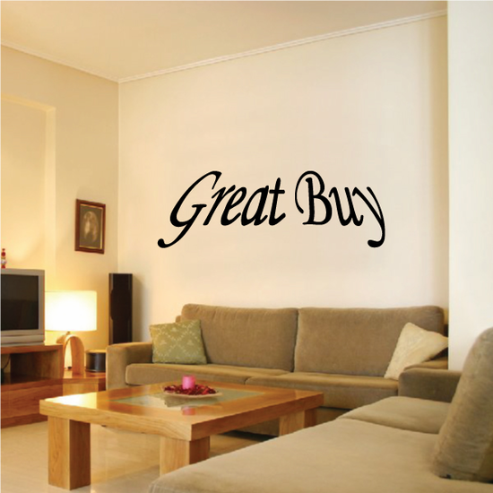 Great Buy Wall Decal - Vinyl Decal - Car Decal - Business Sign - MC167