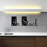 In Stock Wall Decal - Vinyl Decal - Car Decal - Business Sign - MC169