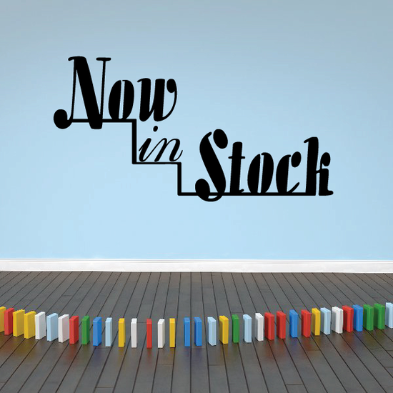 Now In Stock  Wall Decal - Vinyl Decal - Car Decal - Business Sign - MC175