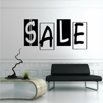 Sale Wall Decal - Vinyl Decal - Car Decal - Business Sign - MC176