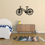 BMX Bike Bar Spin Trick Decal