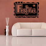 Festival Wall Decal - Vinyl Decal - Car Decal - Business Sign - MC185