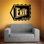 Exit Wall Decal - Vinyl Decal - Car Decal - Business Sign - MC198