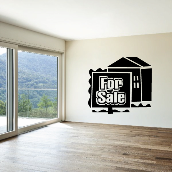 For Sale Wall Decal - Vinyl Decal - Car Decal - Business Sign - MC200
