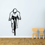 Bicycle Cycling Forward Decal