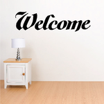 Welcome Wall Decal - Vinyl Decal - Car Decal - Business Sign - MC221