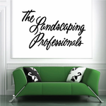 The Landscaping Professionals Wall Decal - Vinyl Decal - Car Decal - Business Sign - MC225