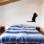 Standing Otter Decal