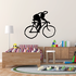 Artistic Abstract Cyclist Decal