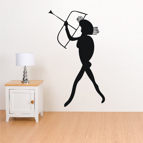 African Art Archer Decal