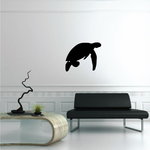 Sea Turtle Floating Decal