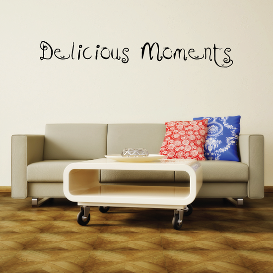 Delicious Moments Wall Decal