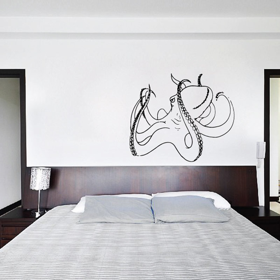 Relaxed Octopus Decal