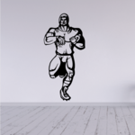 Football Player Wall Decal - Vinyl Decal - Car Decal - CDS066