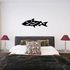 Abstract Twist Fish Decal