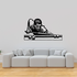 Confident Pool Player Decal