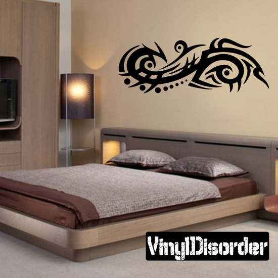 Classic Tribal Wall Decal - Vinyl Decal - Car Decal - DC 016