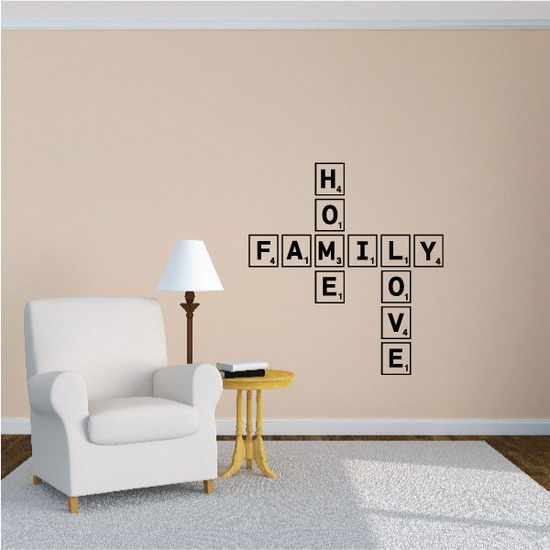 Family Home Love Wall Decal