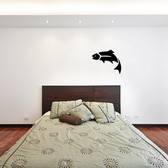 Fish Wall Decal - Vinyl Decal - Car Decal - DC212