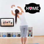 Home Heart Wall Decal