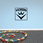 Vickers Decal