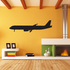Commercial Airliner Profile Decal