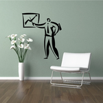 Sales Report Wall Decal - Vinyl Decal - Car Decal - Business Decal - MC20
