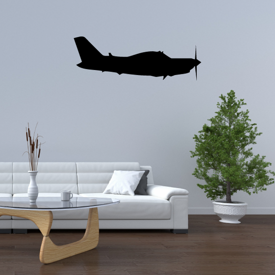 Personal Propellor Plane Decal