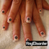 stars MC007 Fingernail Art Sticker - Vinyl Finger Nail Decals