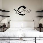 Fish Wall Decal - Vinyl Decal - Car Decal - DC215