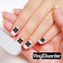 stars MC012 Fingernail Art Sticker - Vinyl Finger Nail Decals