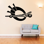 Billiards Perspective Balls on Table Decal