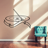 Curling Stone Broom and Ribbon Style Decal