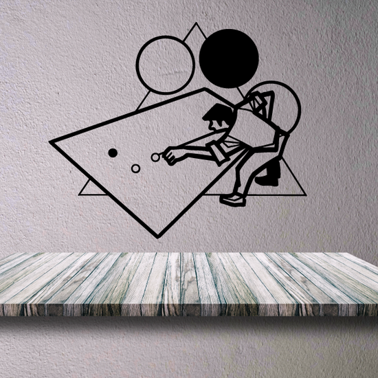 Pool Retro Style Player Decal